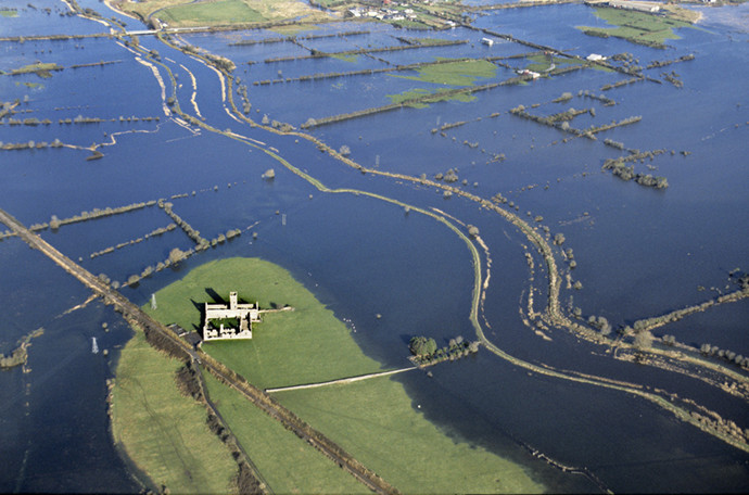 Flooding at Clareabbey